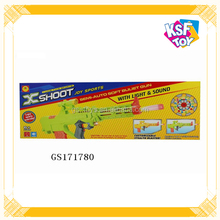 Electric Soft Bullet Gun Toy For Kids With Light&Sound