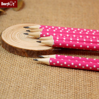 good quality red spooted HB pencil for little grils