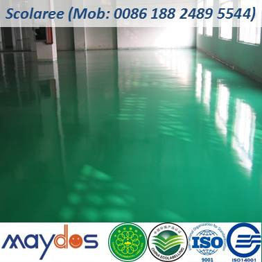 Maydos 2K Oil Based Dust Proof Chemical Resistant Epoxy Resin Warehouse Floor Paint