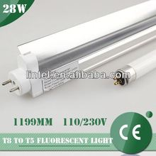 28w CE certificate t3 fluorescent tube with refector