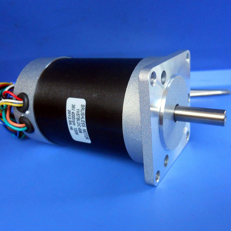 36v 57mm 4000 rpm low noise brushless dc motor series for Low noise dc motor