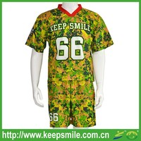 Sublimation Custom Lacorsse Uniforms with Game Jersey and Short for Lacrosse Sports Wear
