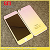 Rainbow Bling Glitter Color Tempered Glass Screen Protector For iPhone 5 5G 5S