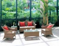 rattan outdoor furniture unique shape sofa