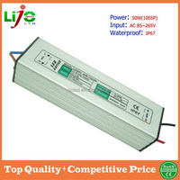 50w 1500ma constant current dc ip67 waterproof electronic led driver