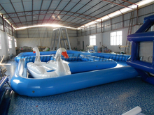 Custom inflatable adult swimming pool toys/PVC swimming pool toys