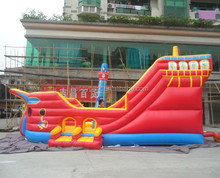 commercial inflatable pirate ship bouncer