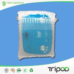 Customized clear plastic bags manufacture, air bag, air cushion bag for sale