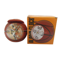 Mini NBA Basketball Travel Alarm Clock as Memento Gifts