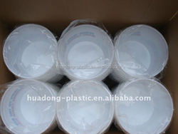 Plastic ice bucket with customed logo