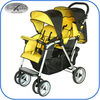 easy fold light weight twin stroller