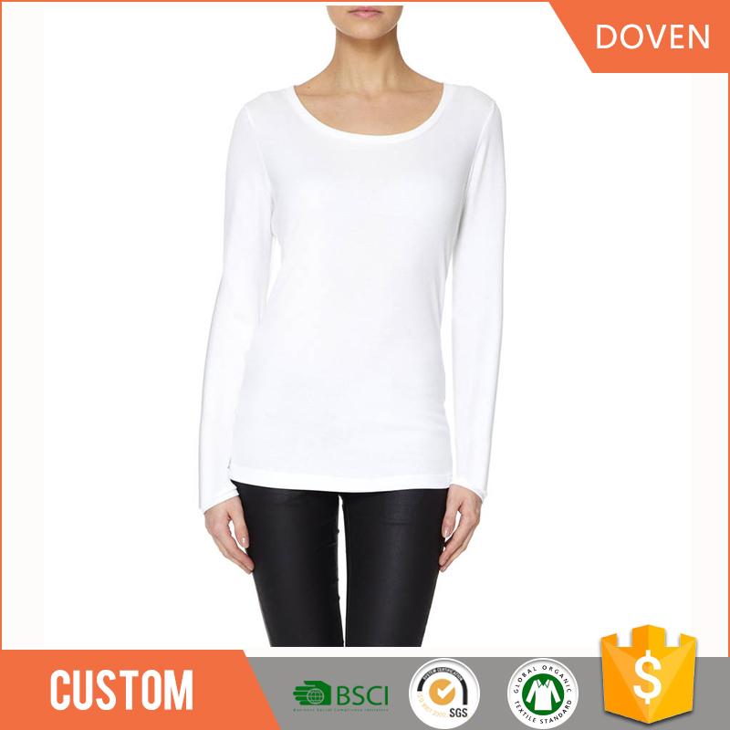 Wholesale Long Sleeve Plus Size T Shirt O Neck T Shirt