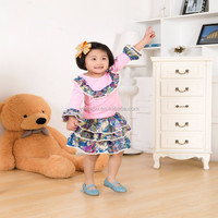 Garments stock lot sale baby clothes, baby girl skirt set, import clothing from china