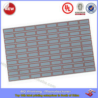 glossy waterproof adhesive address labels