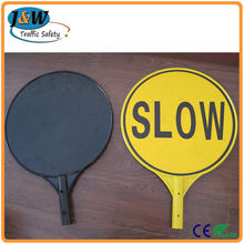 Wholesale Alibaba Stop Slow Bats Traffic Control, Plastic Road Traffic Safety Sign