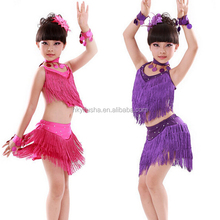 2 pieces cute girl latin dance costumes adorable children latin dance dresses for sale