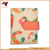 Kisslock card holder for fashion girls