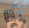 acid etching mobile phone metal keypad