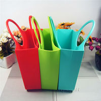 hot selling new design fashional cheap silicone tote bag