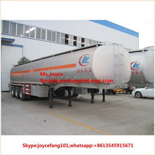 3 Axles Gasoline And Petrol Tanker Truck Fuel Storage Tank Trailer Truck