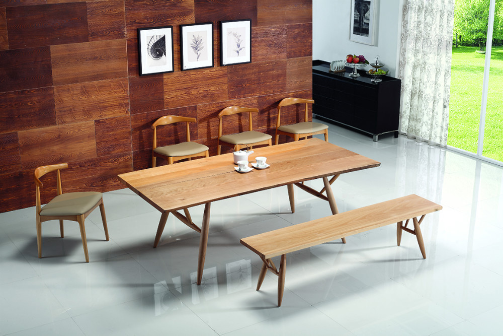 Wooden Dining Table And Chairs & Japanese Style Dining