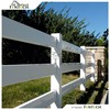 High Quality Fentech Animal Grassland Cheap 3 Rail Fence, Horse Fence