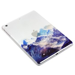 landscape painting case for iPad air 2,half transparent Chinese style case for iPad mini 2