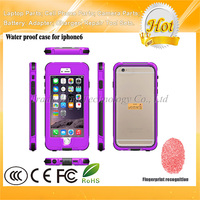 "5.5"" for iPhone 6 6S 6 Plus Waterproof Case IPX68 With Fingerprint Touch ID"