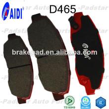 asbestos free brake high level market brake for Japan car high quality semi-metallic & ceramic brake pads D465