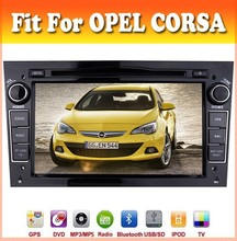 7inch black color touch sreen car dvd gps navigation fit for OPEL CORSA 2006 - 2011 with audio radio bluetooth gps