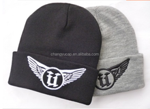 A knitted cap embroidery LOGO/custom LOGO/multi-color optional