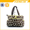 giraffes stripes large simple style fashion baby changing bag