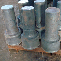 China manfucture OEM forged wheel gear shaft blank