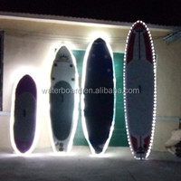 wholesale New Design LED light inflatable stand up paddle board