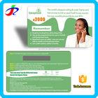 Serviços de impressão de cartão zero mobile telefone chamando