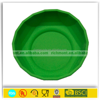 2015 Colorful Flexible FDA& LFGB silicone travel bowl silicone dog bowl