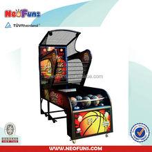 shooting hoop basketball /electronic basketball game machine for sale