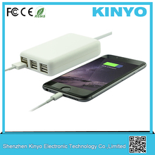 6-Port USB charger 30W Smart Supercharger for Iphone/Ipad/Samsung