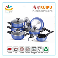 Hot Kitchen products cooking tools Stocked Feature and Cookware Sets Type ALUMINIUM UTENSILS nonstick cookware sets