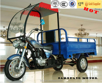 adult cargo tricycle motor cabin tricycle with proof for sale