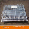 Collapsible wire mesh containers Foldable Cage Wire Mesh Container