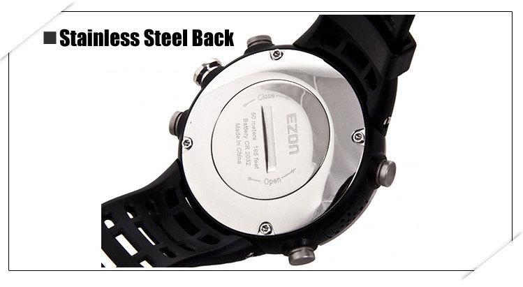 Ezon часы H017 F11 Дамы Восхождение смарт-цифровой спортивные часы с Компасом, альтиметр и Барометр