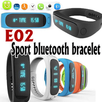 Smart Sport Bracelet Bluetooth Smart Watch E02 bulk buy from shenzhen china