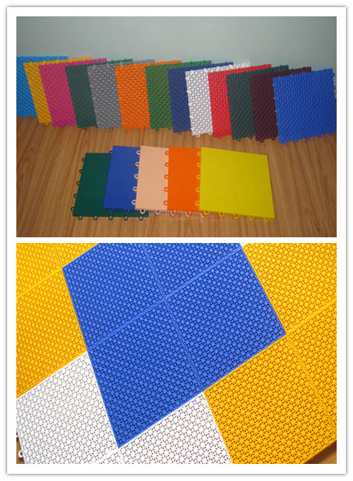 플라스틱 바닥재 유형 및 폴리 프로필렌 소재 높은 품질 농구 ...