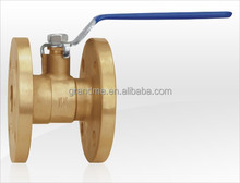 206 long handle brass flanged ball valve