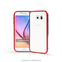 Hot selling two-tone metal bumper frame case for Samsung Galaxy S6/S6 Edge