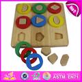 Nuevo producto caliente para 2015 niños juguete de madera rompecabezas de juguete juego, Niños de juguete de madera juguete juego de puzzle, Diy juguete del rompecabezas juguetes rompecabezas W13E017-A1