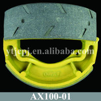 AX100 Motorcycle Brake Shoe With Cheap Price