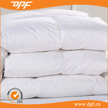 High quality white quilted bedspread duvet
