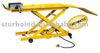 motorcycle lift, 800lb, pneumatic, CE approved